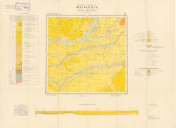 Republca socilista Romania, Harta geologica, L-35-XIII, Tirgu Mures