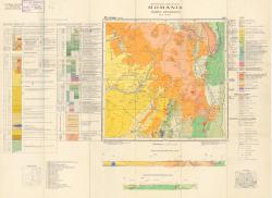 Republca socilista Romania, Harta geologica, L-35-XIV, Odorhei