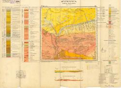 Republca socilista Romania, Harta geologica, L-35-XIX, Sibiu