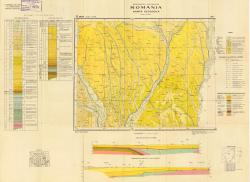 Republca socilista Romania, Harta geologica, L-35-XVI, Birlad