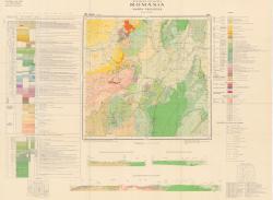 Republca socilista Romania, Harta geologica, L-35-XX, Brasov