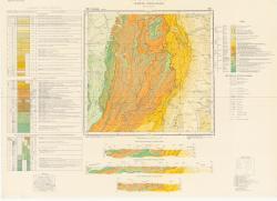 Republca socilista Romania, Harta geologica, L-35-XXI, Covasna