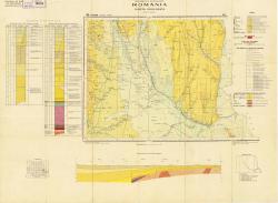 Republca socilista Romania, Harta geologica, L-35-XXII, Focsani