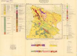 Republca socilista Romania, Harta geologica, L-35-XXIX, Tulcea