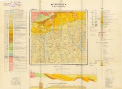 Republca socilista Romania, Harta geologica, L-35-XXV, Pitesti