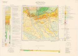 Republca socilista Romania, Harta geologica, L-35-XXVI, Tirgoviste