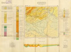 Republca socilista Romania, Harta geologica, L-35-XXVII, Ploiesti