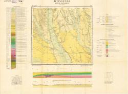 Republca socilista Romania, Harta geologica, L-35-XXXI, Slatina