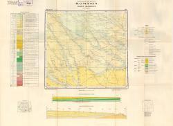 Republca socilista Romania, Harta geologica, L-35-XXXII, Neajlov