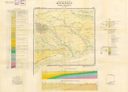 Republca socilista Romania, Harta geologica, L-35-XXXIII, Bucuresti