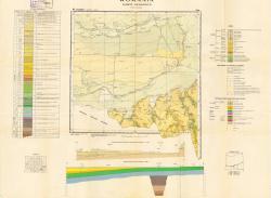 Republca socilista Romania, Harta geologica, L-35-XXXIV, Calarasi