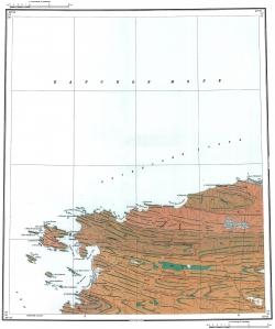 S-44-XXI,XXI. Геологическая карта СССР. Серия Таймырская