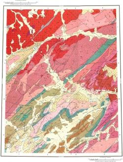 S-46-IX,X. Геологическая карта СССР. Таймырская серия