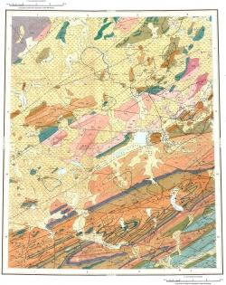 S-46-XIII,XIV. Геологическая карта СССР. Таймырская серия