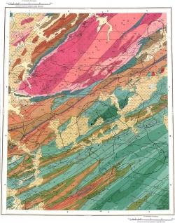 S-46-XV,XVI. Геологическая карта СССР. Таймырская серия