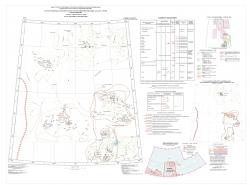 S-53,54 (о. Столбовой-Ляховские о-ва). Государственная геологическая карта Российской Федерации. Третье поколение. Лаптево-Сибироморская серия. Карта полезных ископаемых