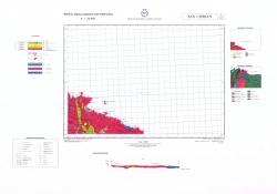 San Ciprian 3/8-2. Mapa geologico de Espana
