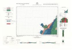 San Salvador de Serantes 6/5-3. Mapa geologico de Espana
