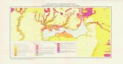 Схематическая геологическая карта Николопольского марганцеворудного бассейна