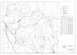 Ситуационная карта Юго-Западной Калбы