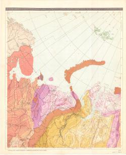 Структурная карта поверхности фундамента платформенных территорий СССР