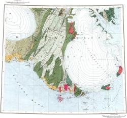 T-45-VII,VIII,IX,X. Геологическая карта СССР. Североземельская серия