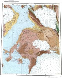 T-46-IV;V;VI. Геологическая карта СССР. Североземельская серия