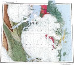 T-47-I;II;III;IV;V. Геологическая карта СССР. Североземельская серия