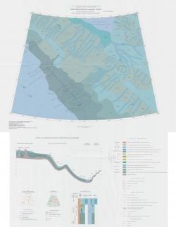 T-57-60 (о. Генриетты). Государственная геологическая карта Российской Федерации. Третье поколение. Лаптево-Сибирскоморская серия. Карта плиоцен-четвертичных образований