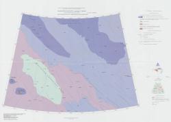 T-57-60 (о. Генриетты). Государственная геологическая карта Российской Федерации. Третье поколение. Лаптево-Сибирскоморская серия. Литологическая карта поверхности морского дна