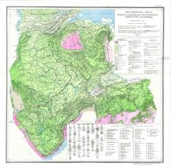 Тектоническая карта вендско-силурийского мегакомплекса Сибирской платформы