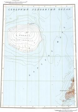 U-46-XXV,XXVI,XXVII. Геологическая карта Российской Федерации. Серия Североземельская