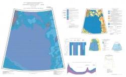 U-57,58,59,60 (поднятие Менделеева). Геологическая карта РФ. Третье поколение. Карта плиоцен-четвертичных образований. Океанская серия