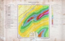Учебная геологическая карта. Лист №15