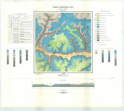 Учебная геологическая карта №1