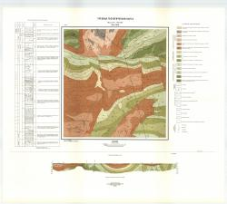 Учебная геологическая карта №10