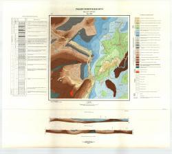 Учебная геологическая карта №12