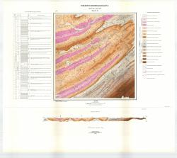 Учебная геологическая карта №13