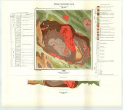 Учебная геологическая карта №24