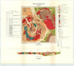 Учебная геологическая карта №25