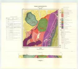 Учебная геологическая карта №27