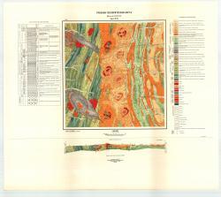 Учебная геологическая карта №28