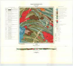 Учебная геологическая карта №29