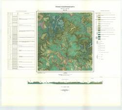 Учебная геологическая карта №3