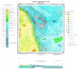 Учебная геологическая карта №8. Старый комплект