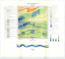 Учебная геологическая карта №9